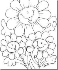 Primavera para nios, poesas y dibujos colorear