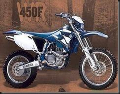 Yamaha WR450F 03