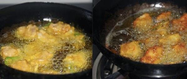 Chicken Pakora step3