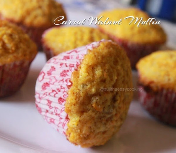 Carrot Walnut Muffin2
