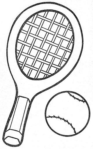 Colorear Dibujos De Raquetas