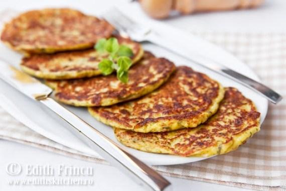 pancakes cu dovlecei 1