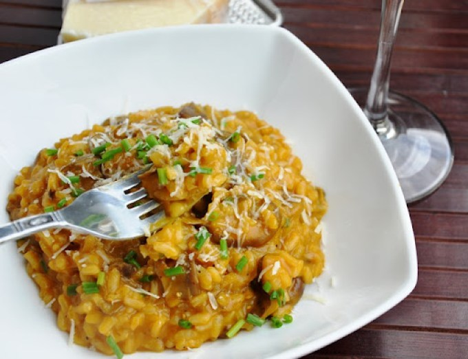 mushroom risotto 135