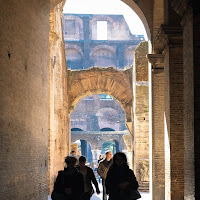 the Colosseum in Rome | with Fujifilm X-E1