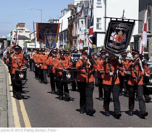 'Orange Day Parade in Portrush, 12 July 2010' photo (c) 2010, Paddy Bohan - license: http://creativecommons.org/licenses/by/2.0/