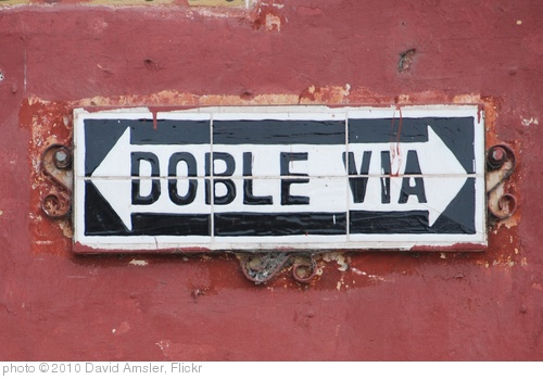 'Doble Via' photo (c) 2010, David Amsler - license: http://creativecommons.org/licenses/by/2.0/