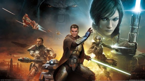 Star Wars The Old Republic Box Art Complete