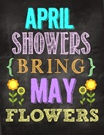 Second Chance to Dream - Free Spring April Showers Printables