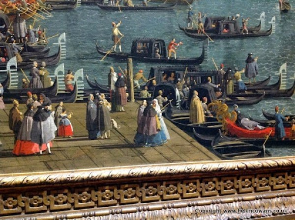 Caneletto  Vencie A regatta on the grand canal  1740