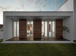 fachada casa estilo minimalista