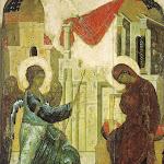 Благовещение. 1405. Андрей Рублёв