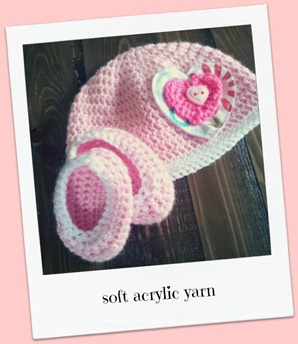 sweetheart crochet beanie 2