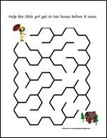 Rain Maze