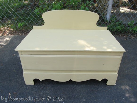 Chest of Drawers into Bench (37)