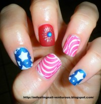 Nail Designs For July 4th | Nail Designs, Hair Styles ...