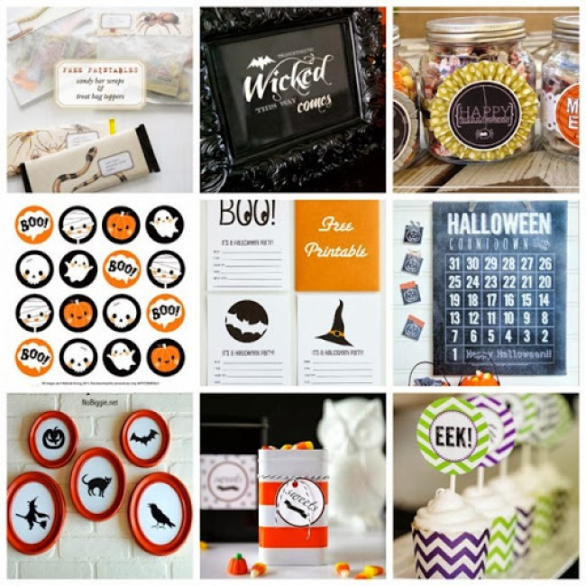 45 Free Halloween Printables #halloween #printables
