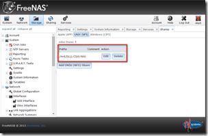 開啟FreeNAS的NFS功能 / Enable NFS in FreeNAS - 布丁布丁吃什麼?