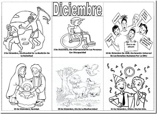 Enero Para Colorear Para Mes Y Para Para Efemerides De