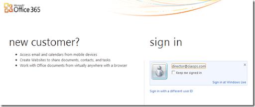Updated external login to SharePoint Online – CIAOPS