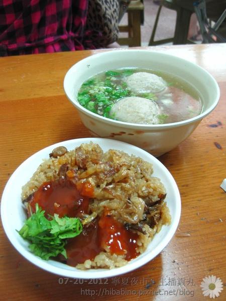 寧夏夜市, 台北美食, 雙連站美食, 主播貢丸, 台北小吃, 夜市小吃IMG_1819