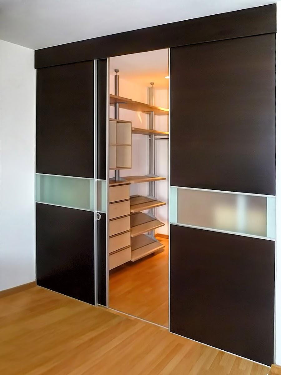 closet vestidor doble puerta corrediza interior