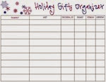Lolly Jane - Gift Organizer