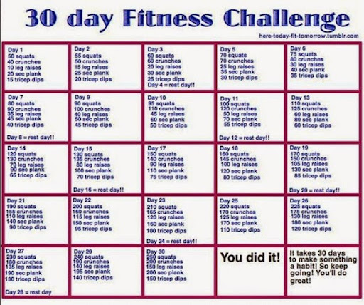 fitness for may