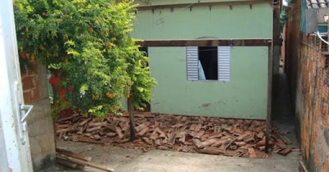 Estragos causados pelos tremores na última madrugada em Minas