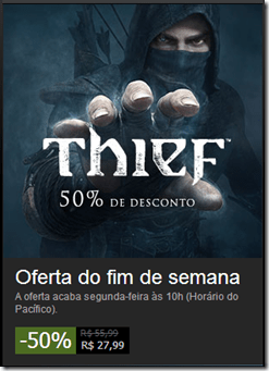 Thief com otimo desconto de 50%