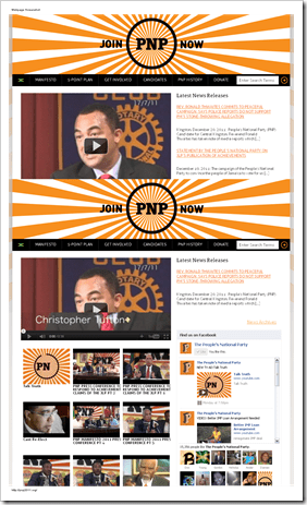 The People's National Party Official website-113634