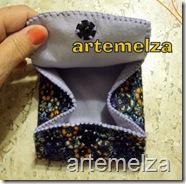 artemelza - bolsa de feltro duplo-32