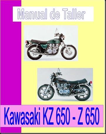 manual taller kz650