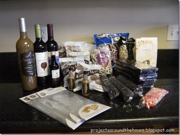 chocolate covered wine bottles tutorial DIY