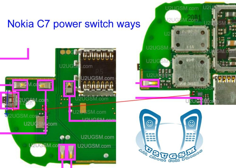 medium resolution of nokia c7 power soutch ways solution