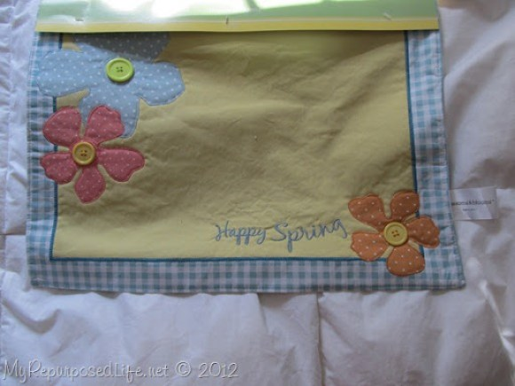 happy spring placemat
