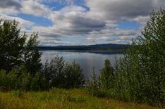 Teslin Lake 72 miles long