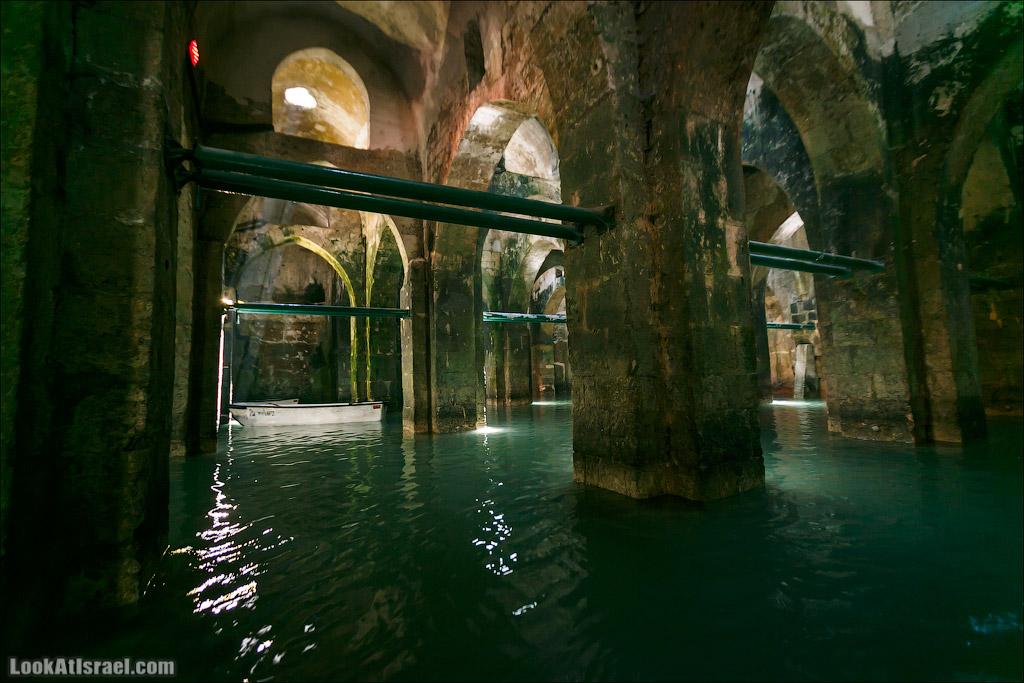 Арочные подземелья Рамлы