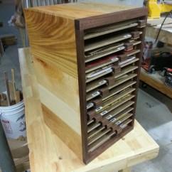 Build Sofa Table Leather Corner With Drink Holder Chad's Workshop: Sandpaper Organizer