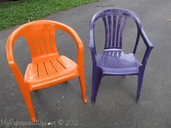 Fabulous Spray Paint Plastic Chairs Download Free Architecture Designs Scobabritishbridgeorg