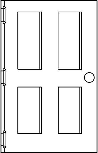 Dibujos De Puertas Para Colorear Dibujos Para Colorear