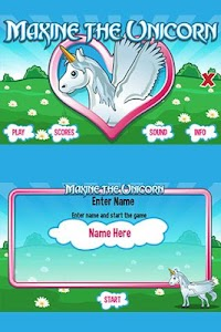 Maxine the Unicorn screenshot 2