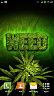 Falling Weed Live Wallpaper For Iphone Weed Live Wallpaper Android Apps On Google Play