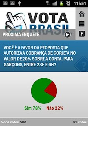 Vota Brasil screenshot 2