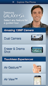 Galaxy S4 Tour Guide screenshot 1