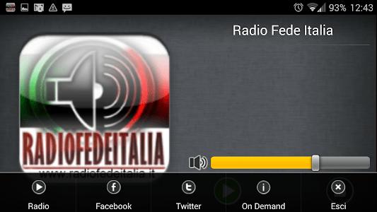 Radio Fede Italia screenshot 5