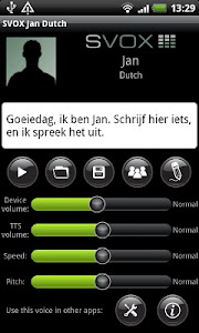 SVOX Dutch Jan Trial screenshot 0