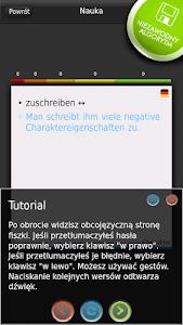 FISZKI Niemiecki Słownictwo 6 screenshot 2