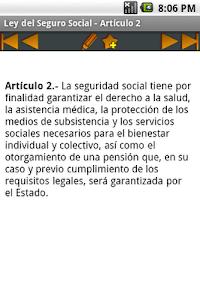 Ley del Seguro Social screenshot 2