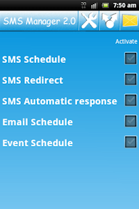 SMS Manager 2.0 screenshot 0