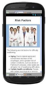 Dysphagia Disease & Symptoms screenshot 4
